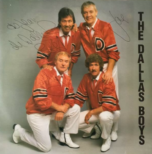 Dallas Boys (The) ‎- Love Is A Many Splendoured Thing (LP) (Signed) (EX/VG++)